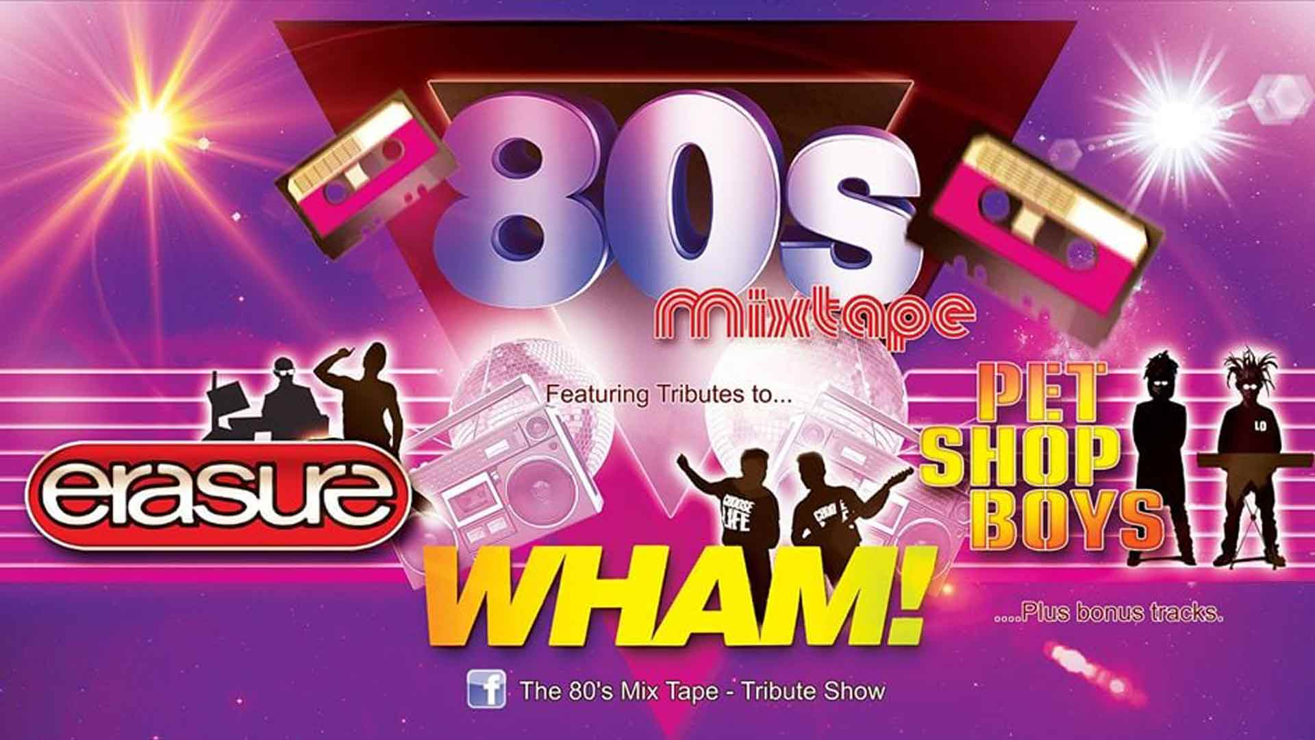 Wham Earasure & Pet Shop Boys Tribute Night